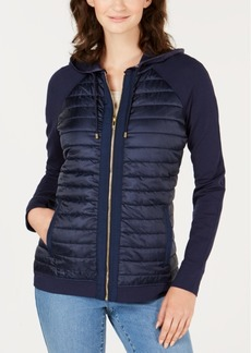 Charter Club Quilted Bomber Jacket, Created for Macy's