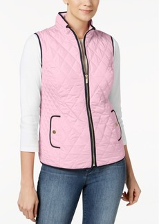 Charter Club Petite Quilted Vest, Created for Macy's