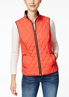 Charter Club Reversible Quilted Vest, Only at Macy's