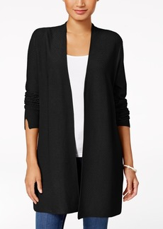 Charter Club Ribbed Duster Cardigan, Created for Macy's