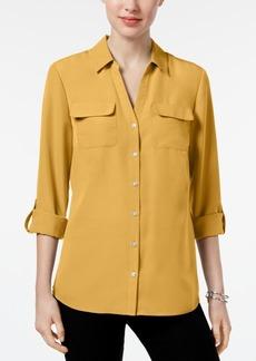 Charter Club Roll-Tab Shirt, Created for Macy's