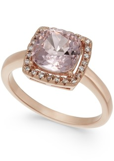 Charter Club Pave & Crystal Stone Square Halo Ring, Created for Macy's