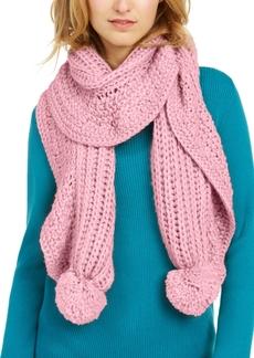 Charter Club Ruffle-Knit Boa Scarf, Created for Macy's