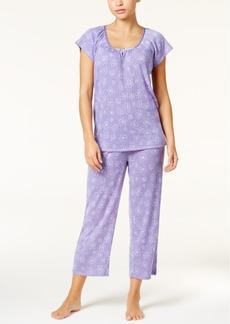 Charter Club Satin-Trim Lightweight Pajama Set, Only at Macy's