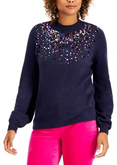 Charter Club Sequined Sweater, Created for Macy's