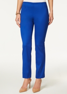 Charter Club Side-Zip Slim Ankle Pants, Created for Macy's