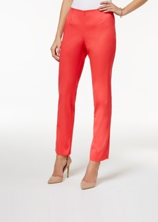 Charter Club Side-Zip Slim Ankle Pants, Only at Macy's