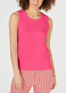 Charter Club Sleeveless Crew-Neck Sweater, Created for Macy's