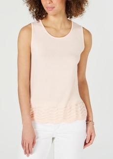 Charter Club Sleeveless Zigzag Sweater, Created for Macy's