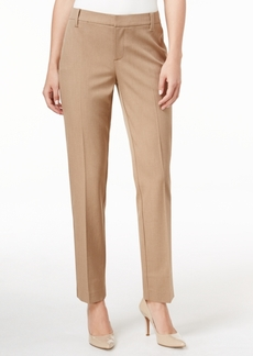 Charter Club Polished Slim-Leg Ankle Pants, Only at Macy's