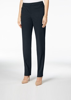 Charter Club Solid Bistretch Slim Leg Pant, Only at Macy's