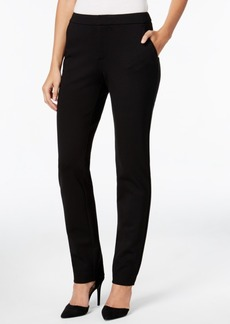 Charter Club Slim-Leg Ponte Pants, Only at Macy's