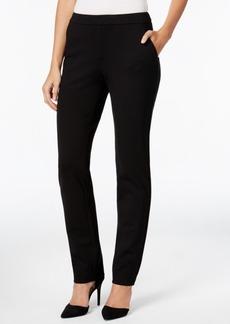 Charter Club Slim-Leg Ponte Pants, Only at Macy's