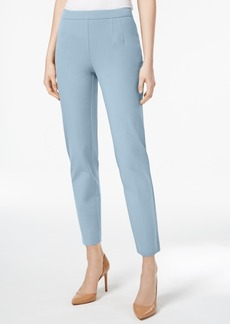 Charter Club Slim-Leg Tummy-Control Ankle Pants, Created for Macy's