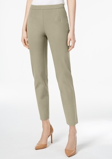 Charter Club Slim-Leg Tummy-Control Ankle Pants, Only at Macy's