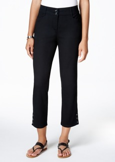 Charter Club Solid Capri Pants, Created for Macy's