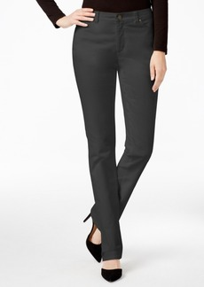 Charter Club Lexington Solid Corduroy Straight Leg Pant, Only at Macy's