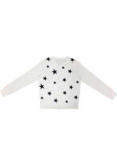 Charter Club Star-Front Button Cardigan, Created for Macy's