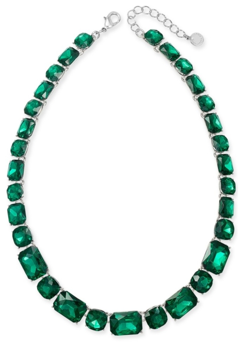 """Charter Club Stone All-Around Necklace, 17"""" + 2"""" extender"""