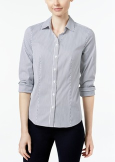 Charter Club Striped Shirt, Only at Macy's