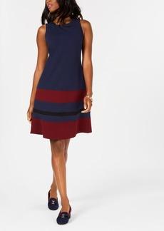 Charter Club Striped Sleeveless Dress, Created for Macy's