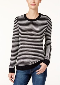 Charter Club Striped Sweater, Only at Macy's