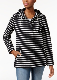 Charter Club Striped Utility Jacket, Only at Macy's