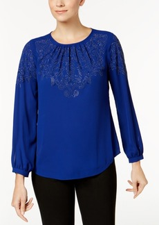 Charter Club Studded Blouse, Created for Macy's
