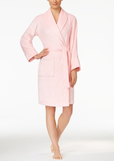 Charter Club Super Soft Shawl Collar Short Robe, Only at Macy's