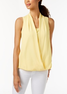 Charter Club Surplice Top, Created for Macy's