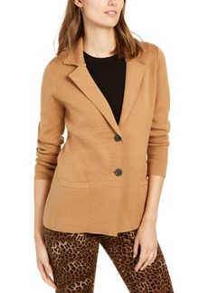 Charter Club Petite Cotton Sweater Blazer, Created for Macy's