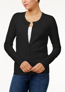 Charter Club Textured Cardigan, Only at Macy's