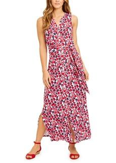 Charter Club Tie-Waist Maxi Dress, Created for Macy's
