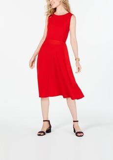 Charter Club Tie-Waist Midi Dress, Created for Macy's