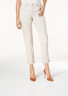Charter Club Tummy-Control Boyfriend Jeans, Created for Macy's