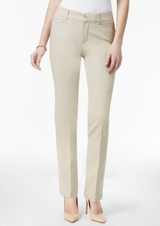 Charter Club Tummy-Control Lexington Straight-Leg Pants, Only at Macy's