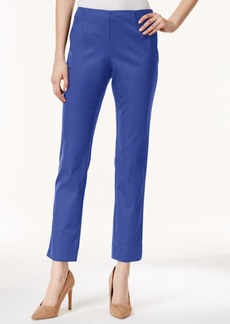 Charter Club Tummy Control Side-Zip Ankle Pants, Only at Macy's