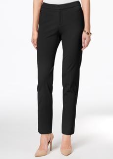 Charter Club Tummy-Control Slim-Leg Pants, Created for Macy's