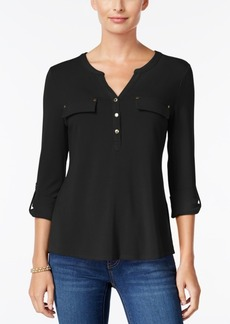Charter Club Utility Henley Top, Only at Macy's