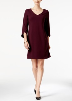Charter Club V-Neck Tulip-Sleeve Dress, Created for Macy's