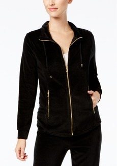 Charter Club Velour Jacket, Created for Macy's