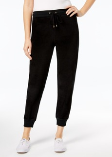 Charter Club Velour Jogger Pants, Created for Macy's