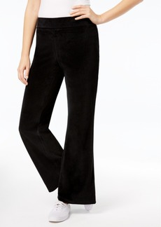 Charter Club Velour Pants, Created for Macy's