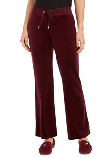 Charter Club Velour Pull-On Pants, Created for Macy's