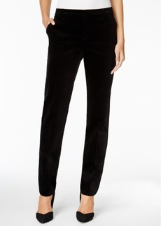 Charter Club Velvet Slim-Leg Pants, Only at Macy's