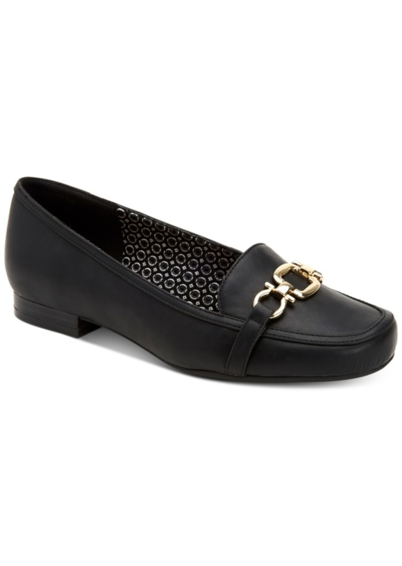Charter Club Women's Alettee Square-Toe Loafers, Created for Macy's Women's Shoes