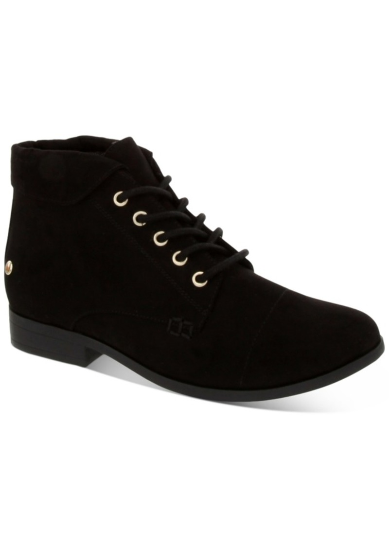 Charter Club Women's Crissie Lace-Up Booties, Created For Macy's Women's Shoes