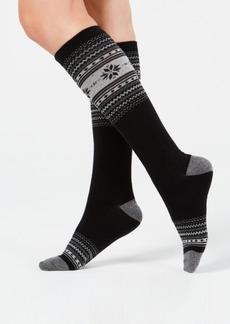 Charter Club Women's Fair Isle Knee-High Socks, Created for Macy's
