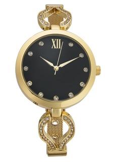 Charter Club Women's Gold-Tone Bracelet Watch 30mm, Created for Macy's