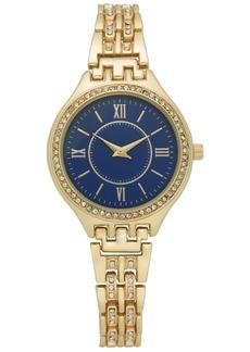 Charter Club Women's Gold-Tone Bracelet Watch 34mm, Created for Macy's